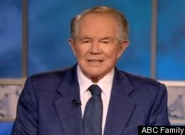 pat robertson laughs about his cocaine using pal on 700 club