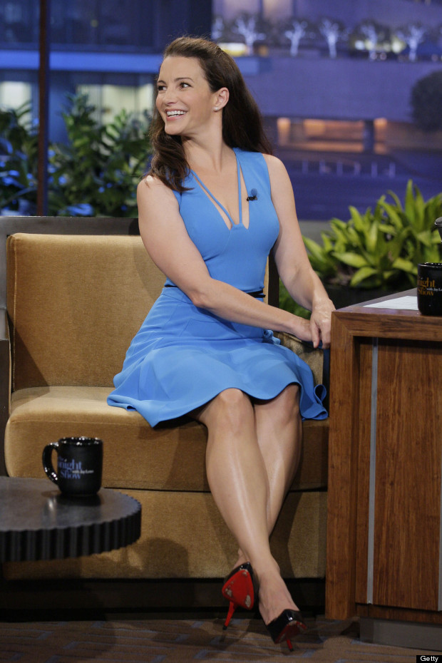 She s back kristin davis makes appearance on the tonight show in