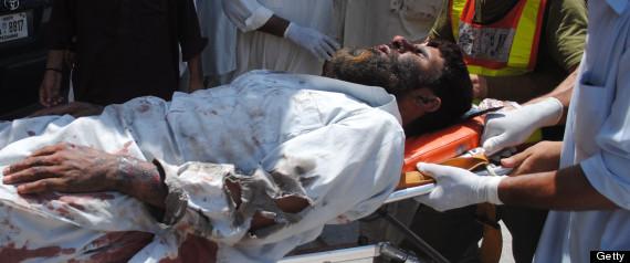 PAKISTAN SHIITE MOSQUE ATTACK