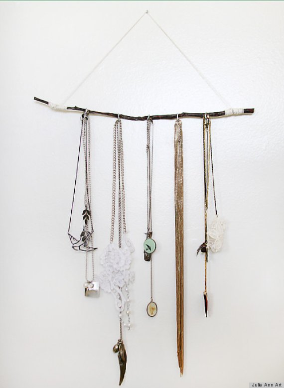 7 clever jewelry storage ideas that are definitely more for Clever ways to store jewelry