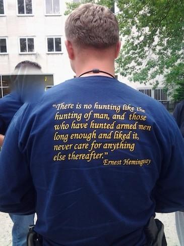 queens cop shirt