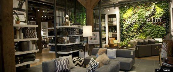 Coup d 39 oeil dans la nouvelle boutique west elm maison de for Boutique meuble montreal