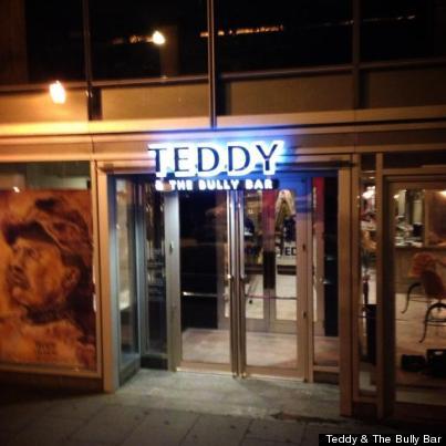 Teddy Amp The Bully Bar D C S New Presidential Destination