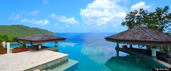 10 piscinas privadas que parecen infinitas fotos