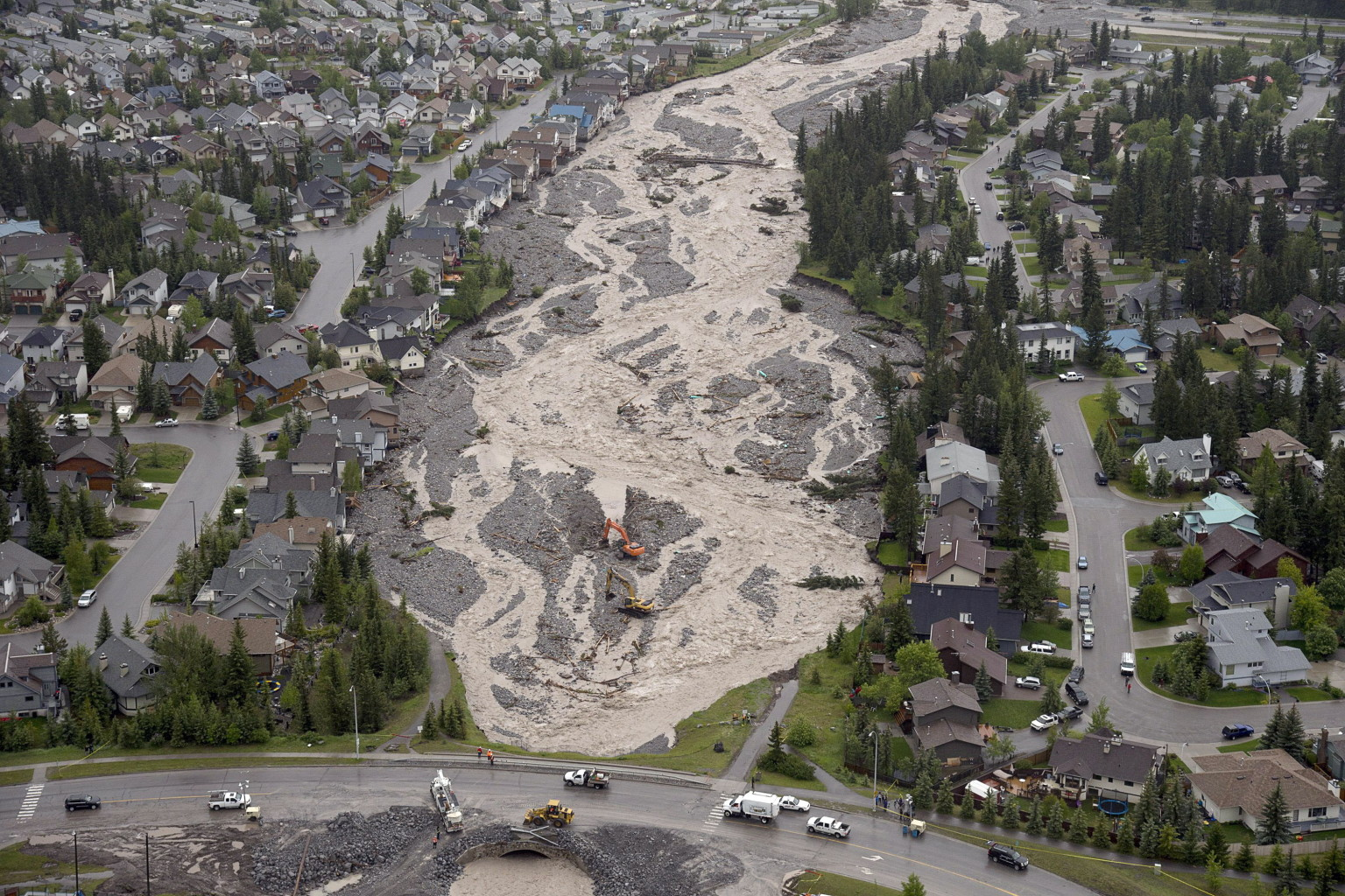 Alberta Flooding Aerial Pictures Show Widespread Damage