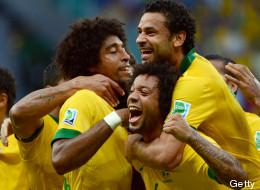 Brasil dominó a Italia y es primero del grupo
