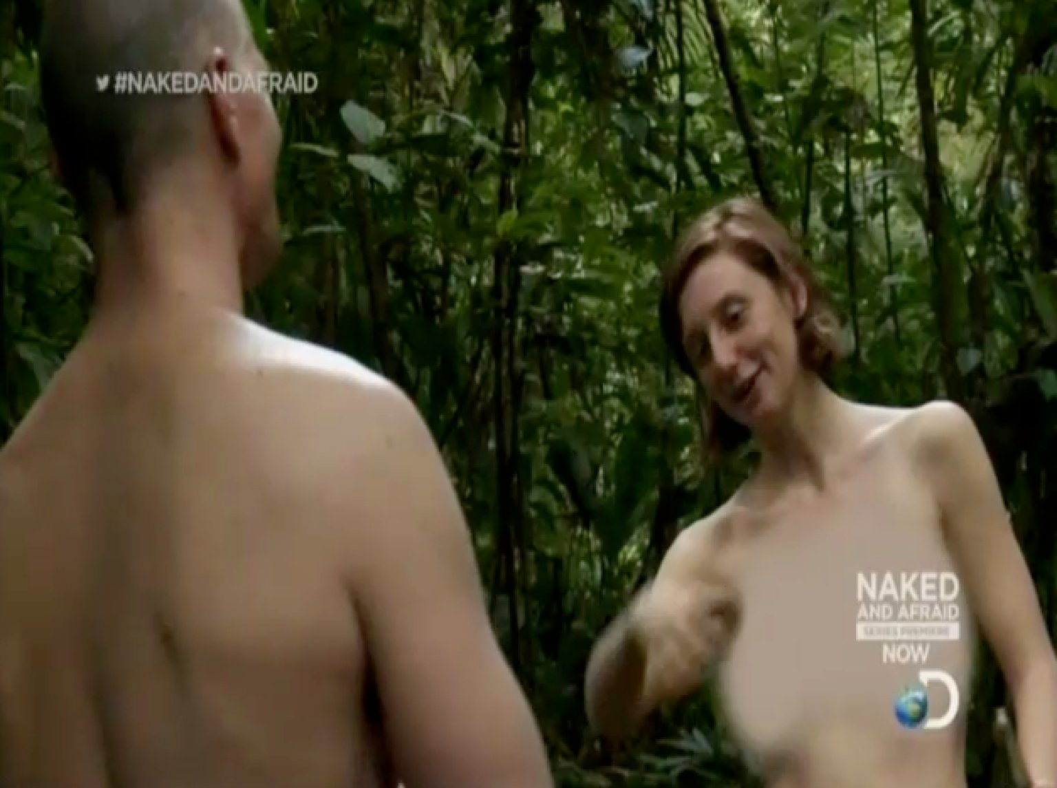 Naked and afraid full nude