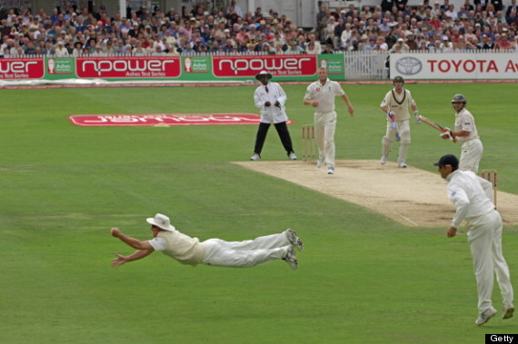 andrew strauss ashes catch