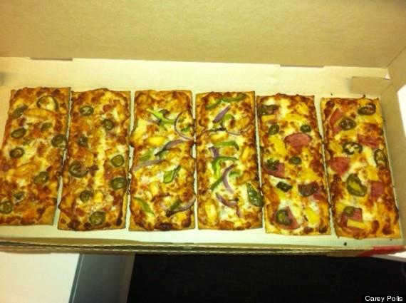 pizza hut flatbread