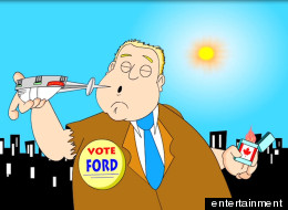 bored of rob ford