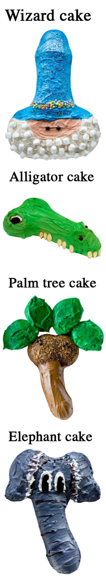 penis cake pan