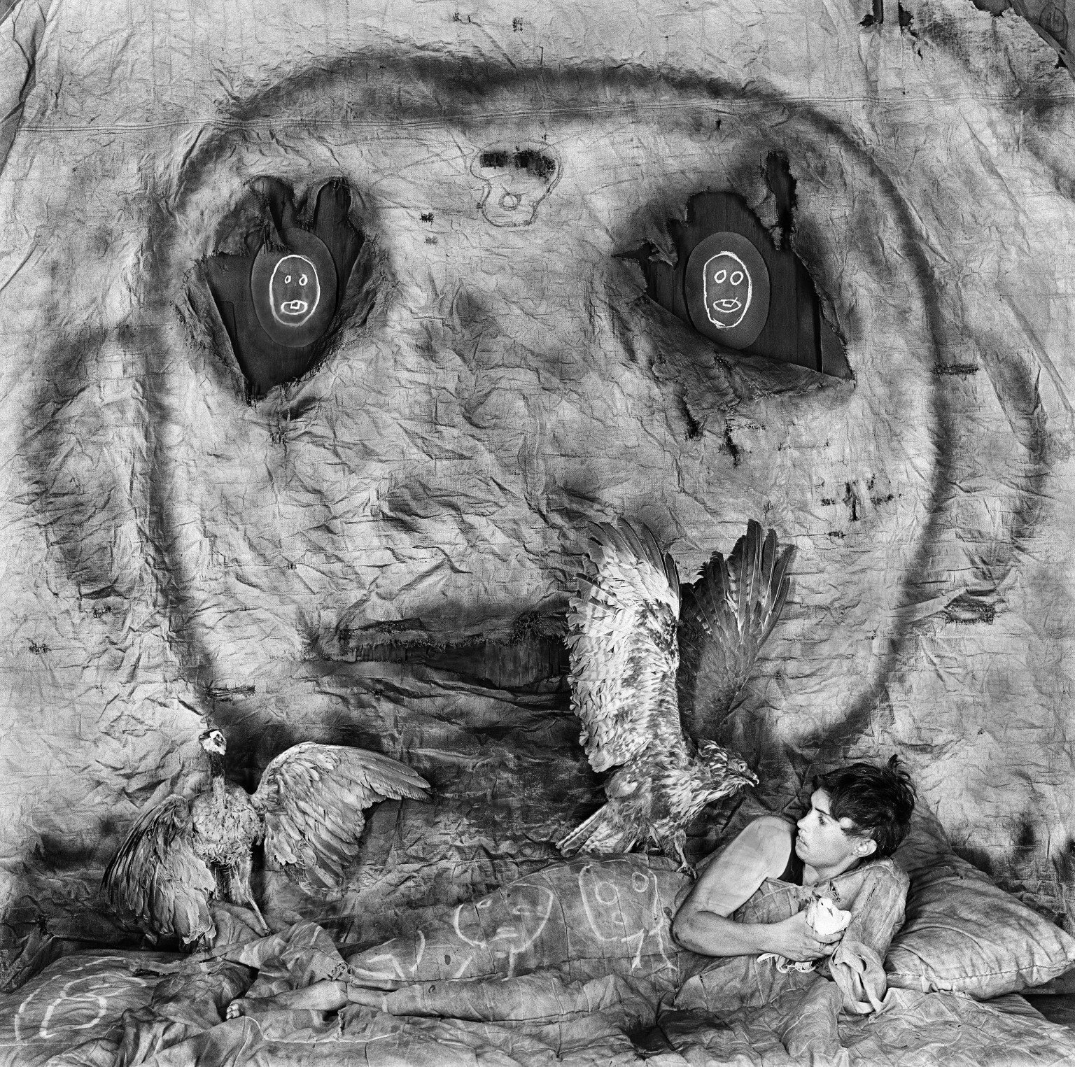Roger Ballen Photos Reveal Surreal Visions At National