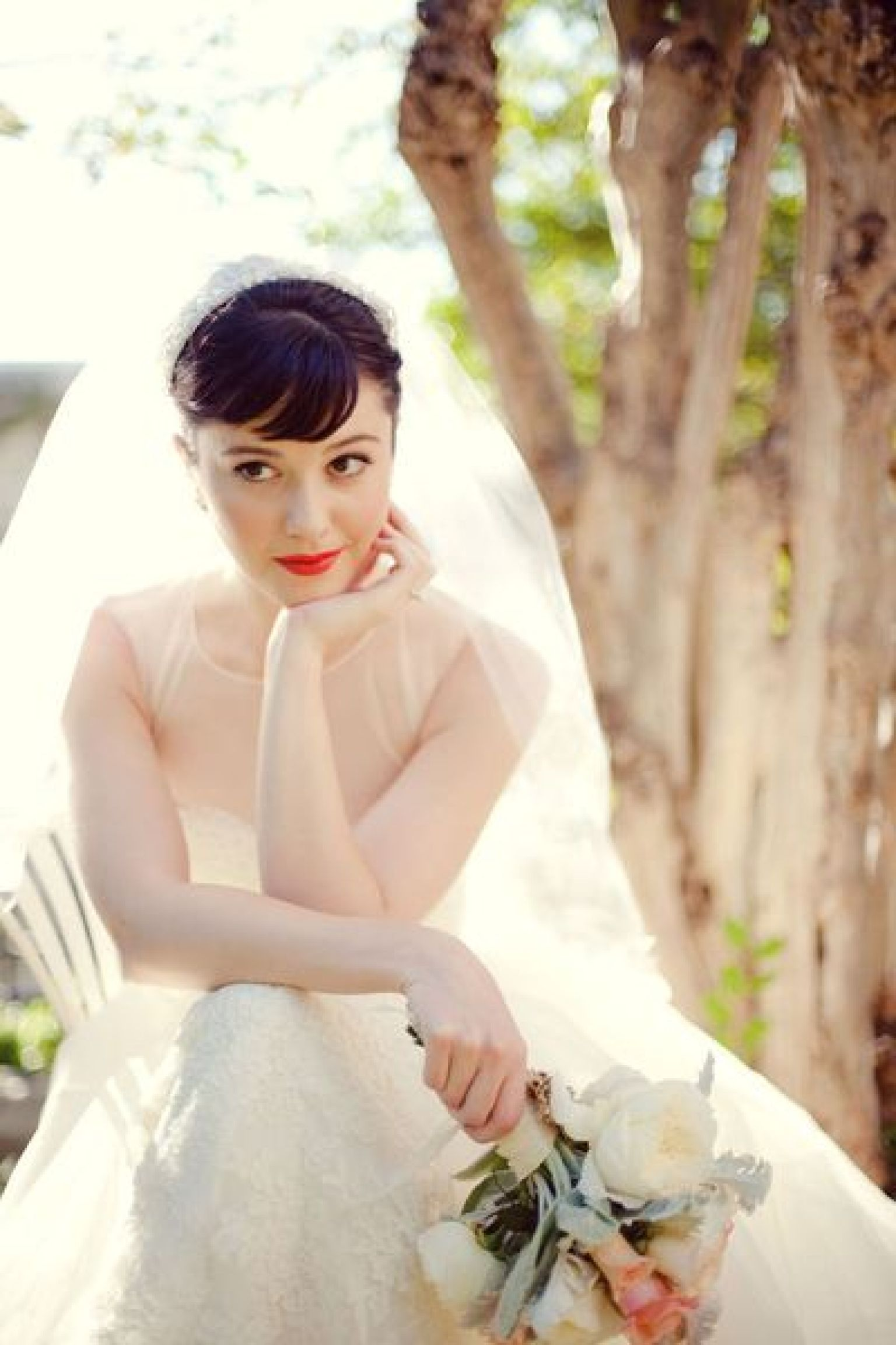 Classic Wedding Hair And Makeup : Vintage Makeup Looks For Modern Brides (PHOTOS)