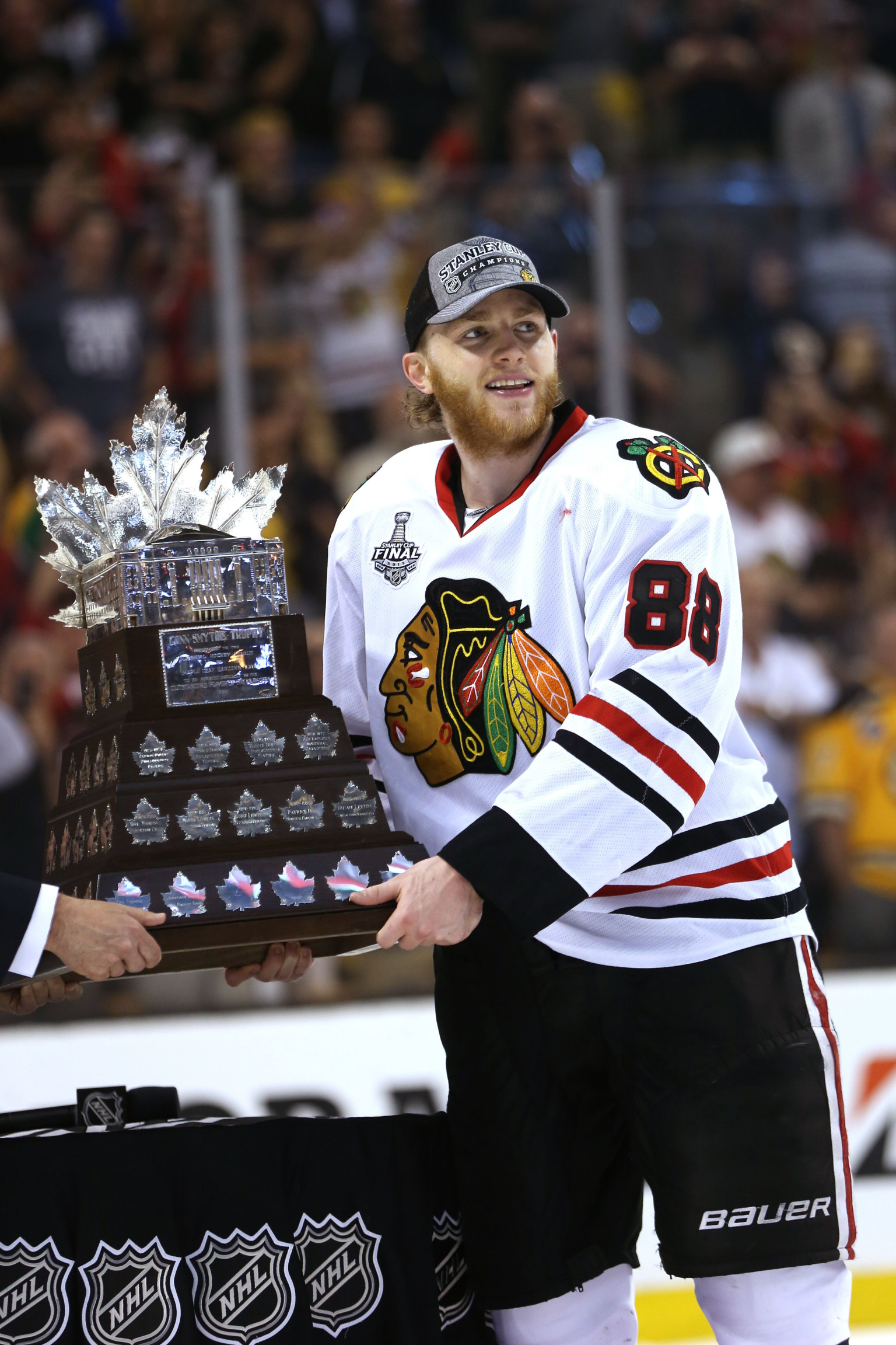 Named Mvp of Stanley Cup
