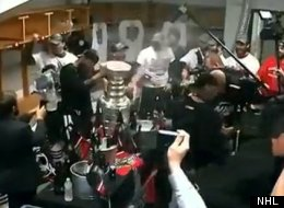 Blackhawks Celebration