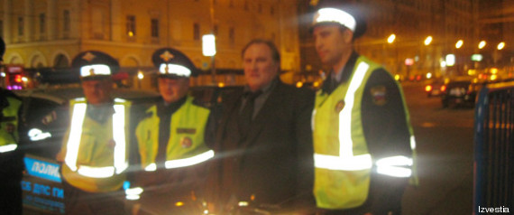 DEPARDIEU ACCIDENT RUSSIE
