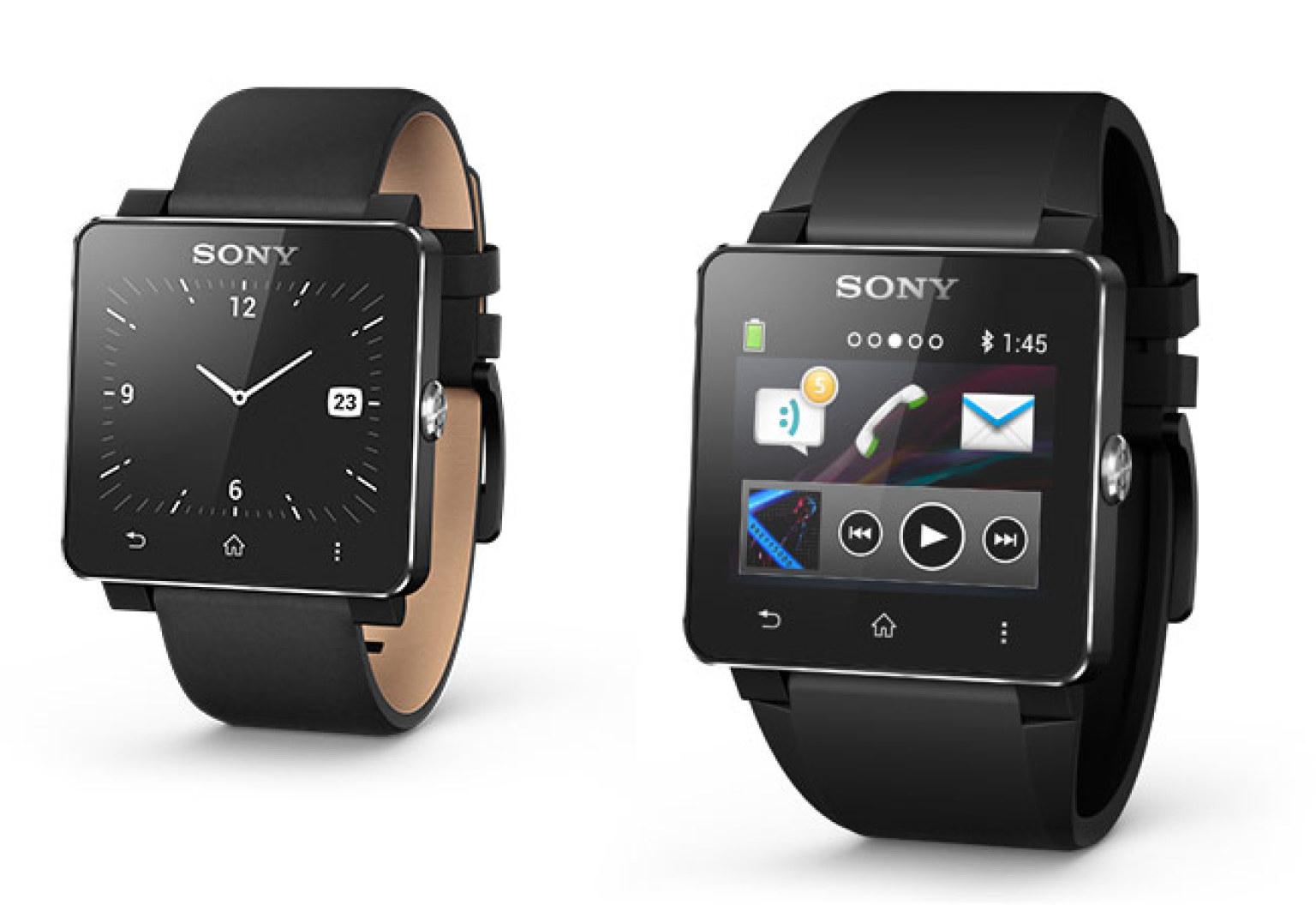 Sony SmartWatch 2: 1.6-Inch, Touch Screen, Waterproof