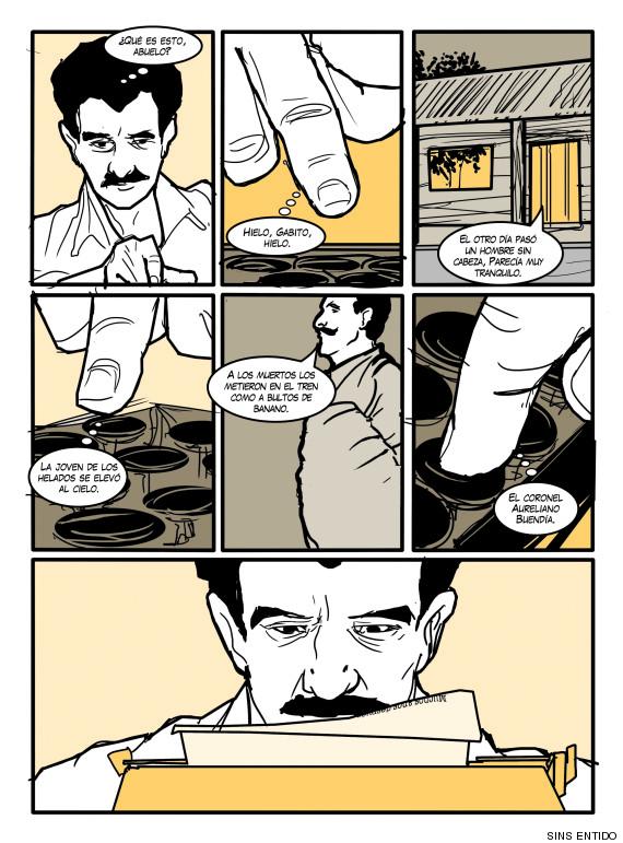 Resultado de imagen para Gabriel García Márquez, caricatura