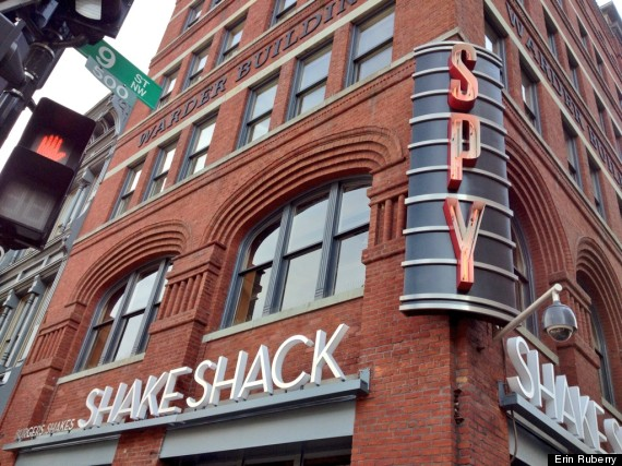 shake shack spy museum