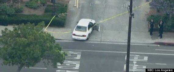 LAPD DETECTIVES SHOT