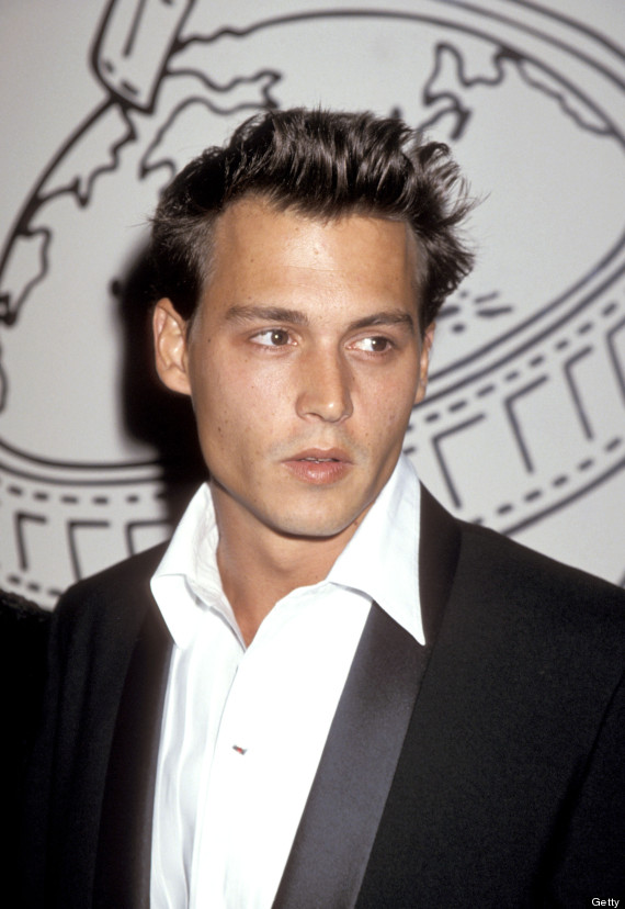 Awesome Johnny Depp39S Short Hair Actor Goes Back To His 3990S Do Photos Short Hairstyles Gunalazisus