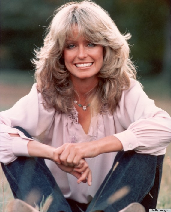 Farrah Fawcett's Famous Flip Hairstyle Over The Years (PHOTOS)