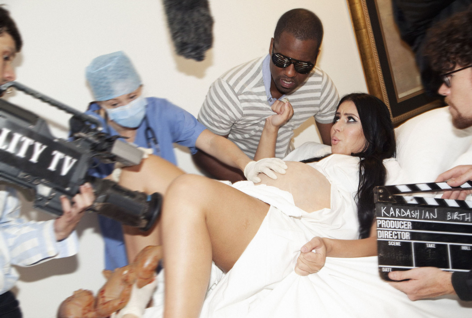 North West Baby Pictures: Kim Kardashian And Kanye West's ...