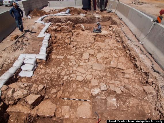 ancient roman road jerusalem