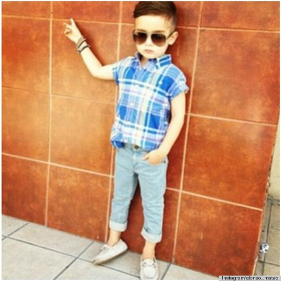 Alonso Mateo Instagram Style: Imaginary Well-Dressed Toddler Meets Real-Life Well