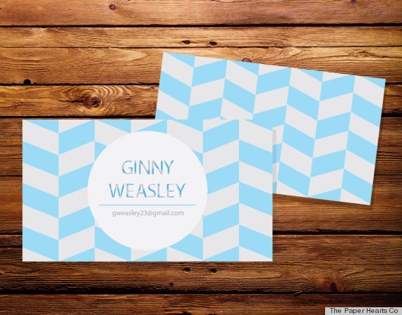 10 Printable Business Cards From Etsy That Are Anything But Boring