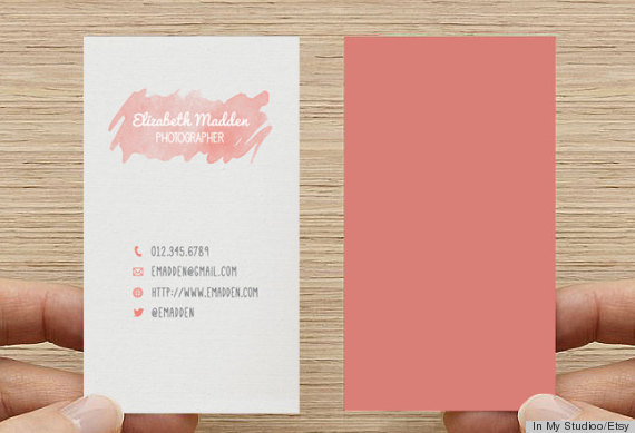 10 printable business cards from etsy that are anything but boring credit in my studiooetsy reheart Choice Image