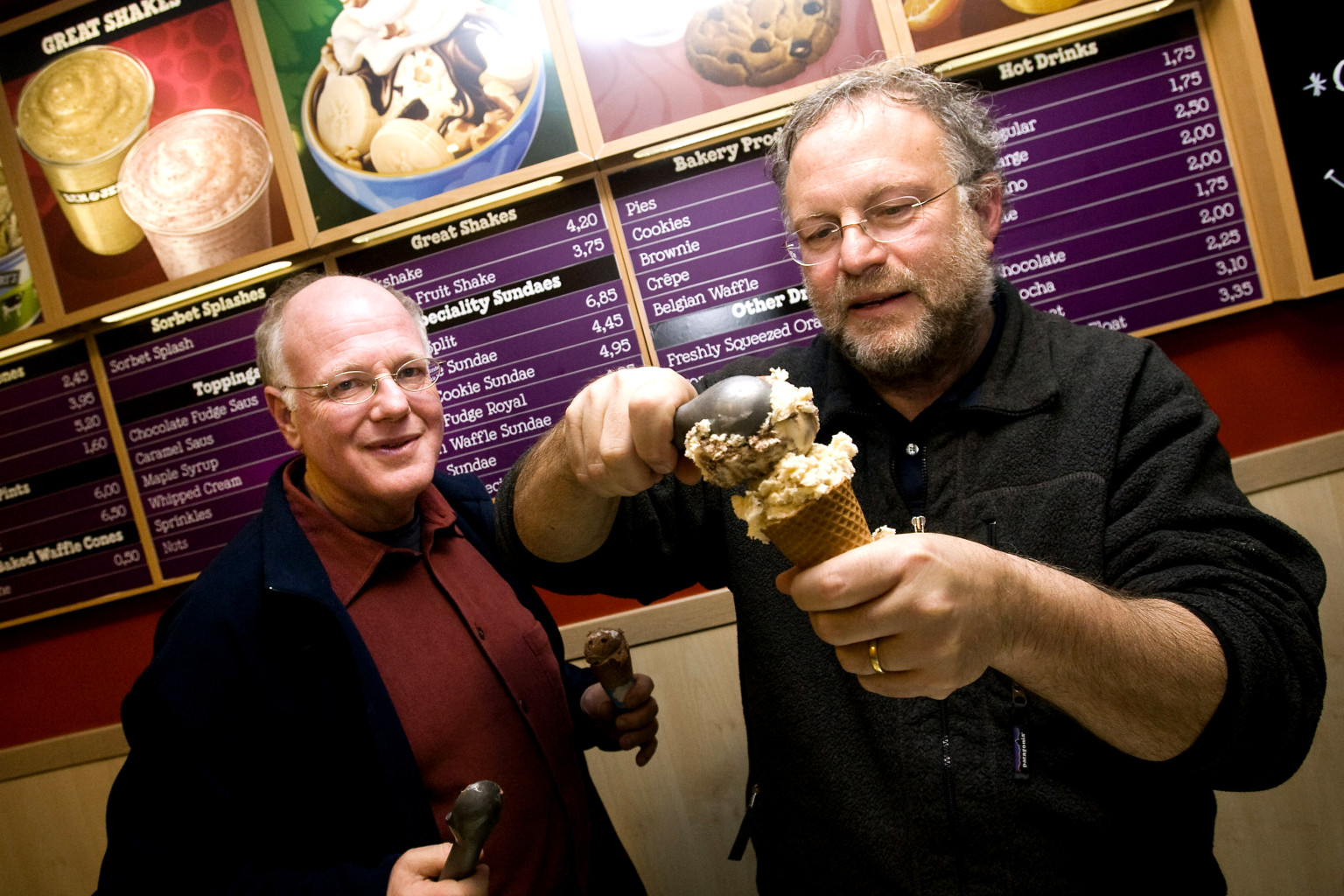the origins and company profile of ice cream maker ben jerrys Ben & jerry's has a long history of being a values-led company explore some of  their greatest ice cream moments.