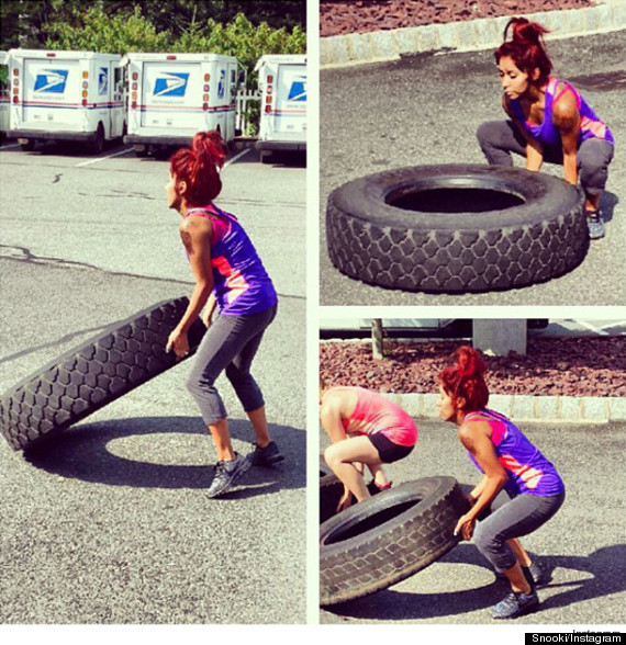 snooki workout