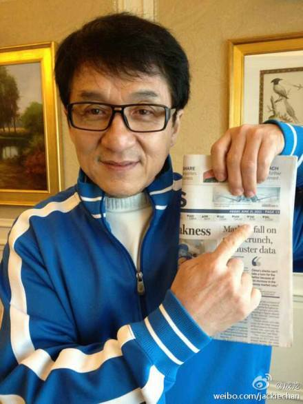 Chan dead jackie Jackie Chan: