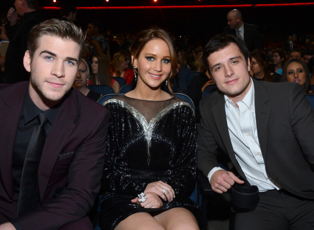 jennifer lawrence josh hutcherson