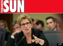 Sun Columnist: Wynne Will Run 'Screaming Back To Men'