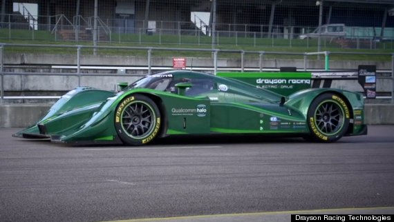 Electric Car Land Speed Record Drayson Racing Technologies Set