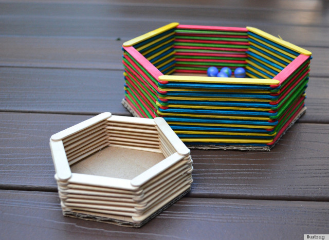 Popsicle stick crafts that will have you channeling your What to make out of popsicle sticks