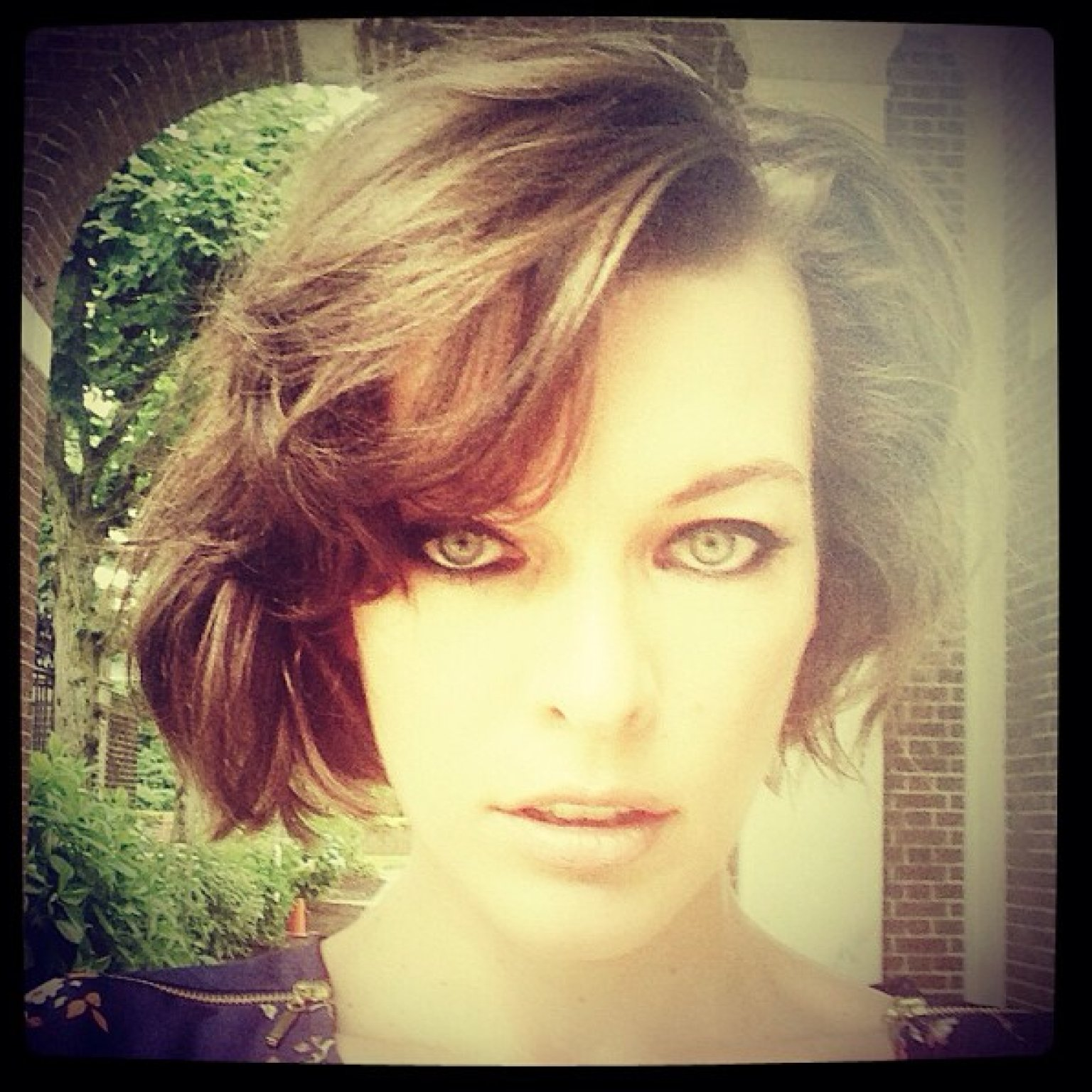 Milla Jovovich's New Hairstyle Is Short And Sexy