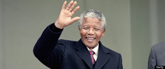 south african archbishop nelson mandela