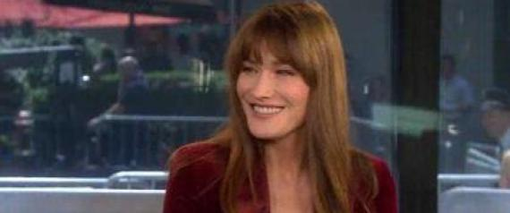 CARLA BRUNI FRANCOIS HOLLANDE