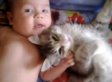 Cat Is Completely And Utterly In Love With Baby (VIDEO)