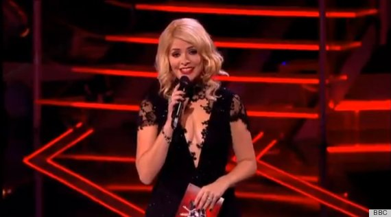 holly willoughby voice dress