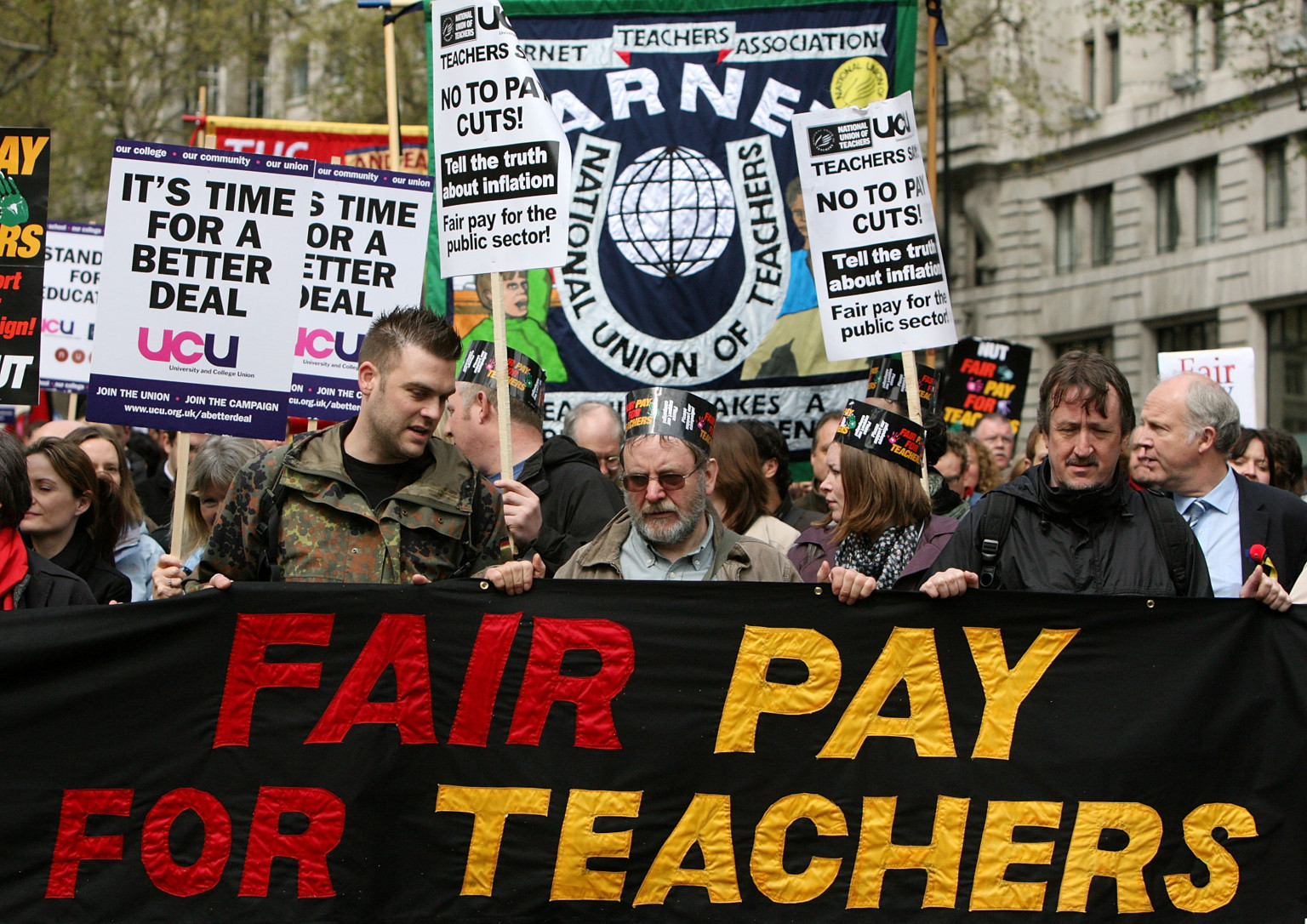 The Responsibility For Teachers Taking Strike Action Rests