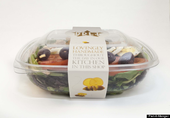 pret a manger salad