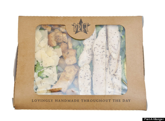 pret a manger old salad container