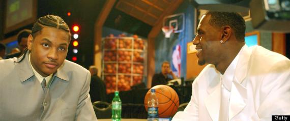 NBA DRAFT LEBRON JAMES