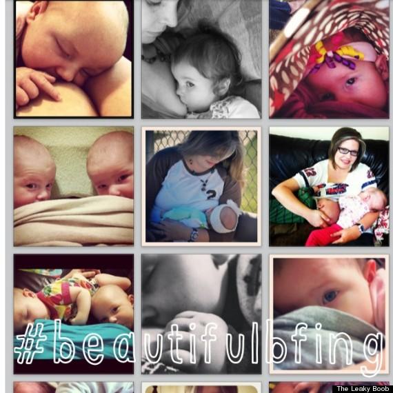 breastfeeding instagram