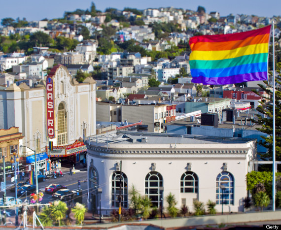 san francisco rainbow flag