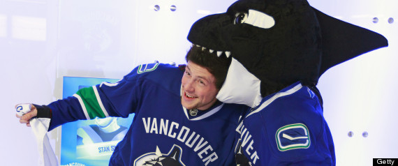 from Cole gay in canucks jersey